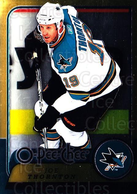 2008-09 O-pee-chee Metal #242 Joe Thornton<br/>1 In Stock - $2.00 each - <a href=https://centericecollectibles.foxycart.com/cart?name=2008-09%20O-pee-chee%20Metal%20%23242%20Joe%20Thornton...&quantity_max=1&price=$2.00&code=288725 class=foxycart> Buy it now! </a>