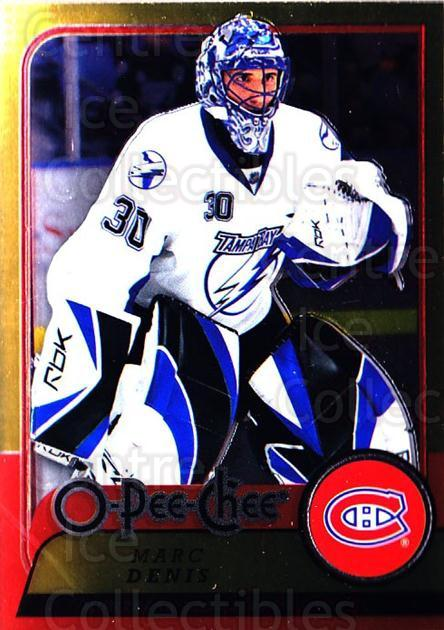 2008-09 O-pee-chee Metal #298 Marc Denis<br/>1 In Stock - $2.00 each - <a href=https://centericecollectibles.foxycart.com/cart?name=2008-09%20O-pee-chee%20Metal%20%23298%20Marc%20Denis...&quantity_max=1&price=$2.00&code=288781 class=foxycart> Buy it now! </a>