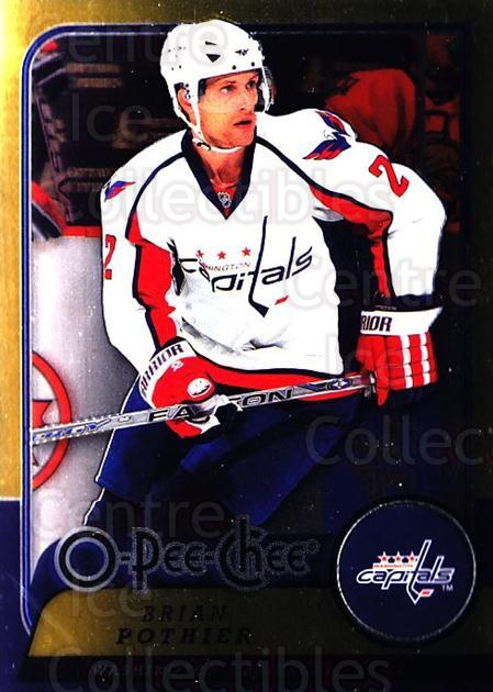 2008-09 O-pee-chee Metal #400 Brian Pothier<br/>2 In Stock - $2.00 each - <a href=https://centericecollectibles.foxycart.com/cart?name=2008-09%20O-pee-chee%20Metal%20%23400%20Brian%20Pothier...&price=$2.00&code=288883 class=foxycart> Buy it now! </a>
