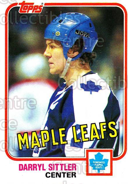 1981-82 Topps #36 Darryl Sittler<br/>3 In Stock - $2.00 each - <a href=https://centericecollectibles.foxycart.com/cart?name=1981-82%20Topps%20%2336%20Darryl%20Sittler...&quantity_max=3&price=$2.00&code=28908 class=foxycart> Buy it now! </a>