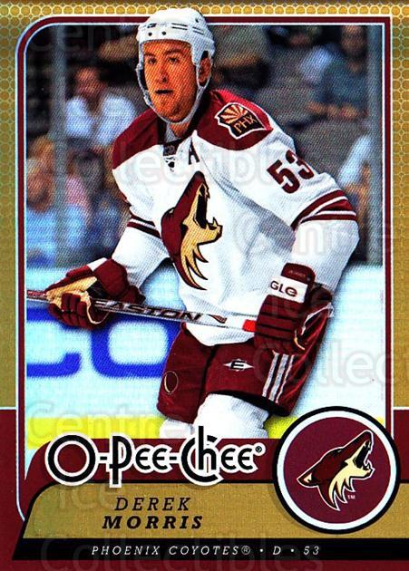 2008-09 O-pee-chee Gold #5 Derek Morris<br/>1 In Stock - $2.00 each - <a href=https://centericecollectibles.foxycart.com/cart?name=2008-09%20O-pee-chee%20Gold%20%235%20Derek%20Morris...&quantity_max=1&price=$2.00&code=290088 class=foxycart> Buy it now! </a>