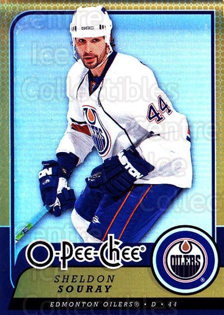 2008-09 O-pee-chee Gold #11 Sheldon Souray<br/>1 In Stock - $2.00 each - <a href=https://centericecollectibles.foxycart.com/cart?name=2008-09%20O-pee-chee%20Gold%20%2311%20Sheldon%20Souray...&quantity_max=1&price=$2.00&code=290094 class=foxycart> Buy it now! </a>