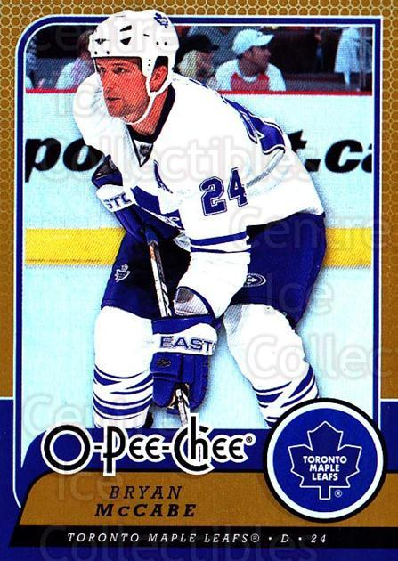 2008-09 O-pee-chee Gold #20 Bryan McCabe<br/>1 In Stock - $2.00 each - <a href=https://centericecollectibles.foxycart.com/cart?name=2008-09%20O-pee-chee%20Gold%20%2320%20Bryan%20McCabe...&quantity_max=1&price=$2.00&code=290103 class=foxycart> Buy it now! </a>