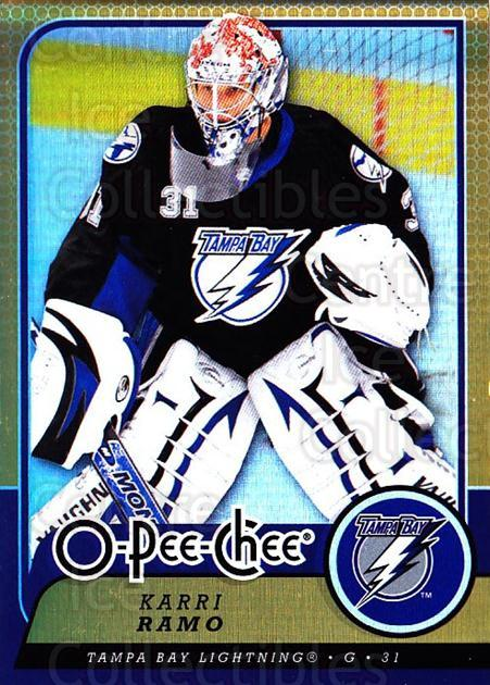 2008-09 O-pee-chee Gold #21 Karri Ramo<br/>1 In Stock - $2.00 each - <a href=https://centericecollectibles.foxycart.com/cart?name=2008-09%20O-pee-chee%20Gold%20%2321%20Karri%20Ramo...&quantity_max=1&price=$2.00&code=290104 class=foxycart> Buy it now! </a>