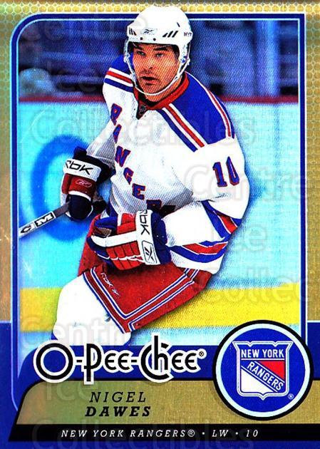 2008-09 O-pee-chee Gold #25 Nigel Dawes<br/>1 In Stock - $2.00 each - <a href=https://centericecollectibles.foxycart.com/cart?name=2008-09%20O-pee-chee%20Gold%20%2325%20Nigel%20Dawes...&quantity_max=1&price=$2.00&code=290108 class=foxycart> Buy it now! </a>