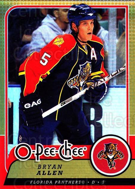 2008-09 O-pee-chee Gold #29 Bryan Allen<br/>1 In Stock - $2.00 each - <a href=https://centericecollectibles.foxycart.com/cart?name=2008-09%20O-pee-chee%20Gold%20%2329%20Bryan%20Allen...&quantity_max=1&price=$2.00&code=290112 class=foxycart> Buy it now! </a>