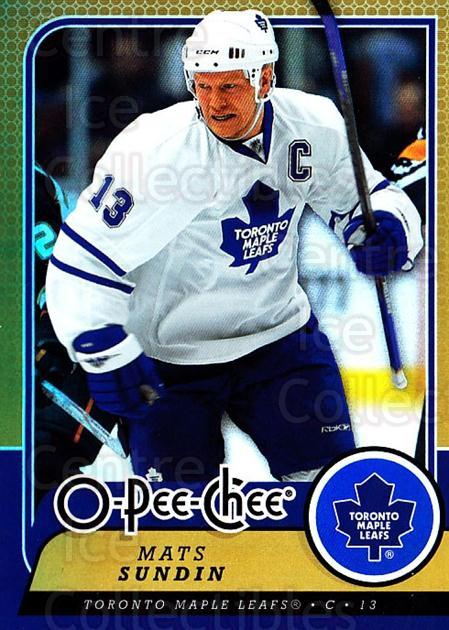2008-09 O-pee-chee Gold #38 Mats Sundin<br/>1 In Stock - $3.00 each - <a href=https://centericecollectibles.foxycart.com/cart?name=2008-09%20O-pee-chee%20Gold%20%2338%20Mats%20Sundin...&quantity_max=1&price=$3.00&code=290121 class=foxycart> Buy it now! </a>