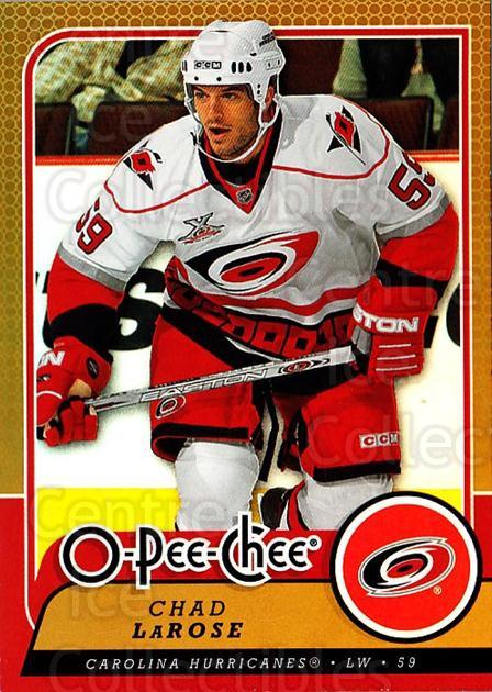 2008-09 O-pee-chee Gold #52 Chad LaRose<br/>2 In Stock - $2.00 each - <a href=https://centericecollectibles.foxycart.com/cart?name=2008-09%20O-pee-chee%20Gold%20%2352%20Chad%20LaRose...&quantity_max=2&price=$2.00&code=290135 class=foxycart> Buy it now! </a>
