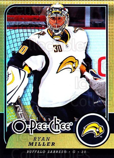 2008-09 O-pee-chee Gold #53 Ryan Miller<br/>1 In Stock - $2.00 each - <a href=https://centericecollectibles.foxycart.com/cart?name=2008-09%20O-pee-chee%20Gold%20%2353%20Ryan%20Miller...&quantity_max=1&price=$2.00&code=290136 class=foxycart> Buy it now! </a>