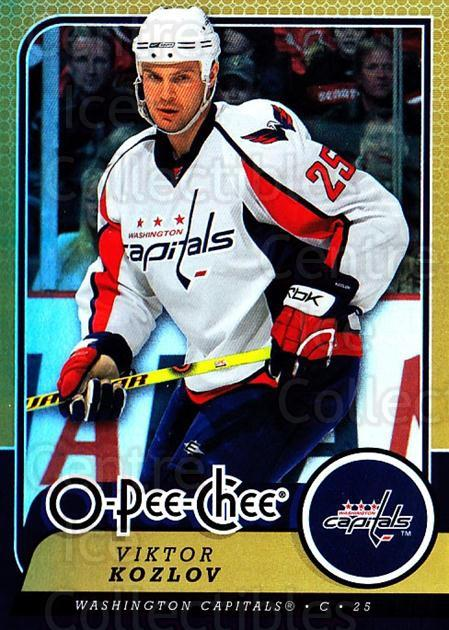 2008-09 O-pee-chee Gold #56 Viktor Kozlov<br/>2 In Stock - $2.00 each - <a href=https://centericecollectibles.foxycart.com/cart?name=2008-09%20O-pee-chee%20Gold%20%2356%20Viktor%20Kozlov...&quantity_max=2&price=$2.00&code=290139 class=foxycart> Buy it now! </a>
