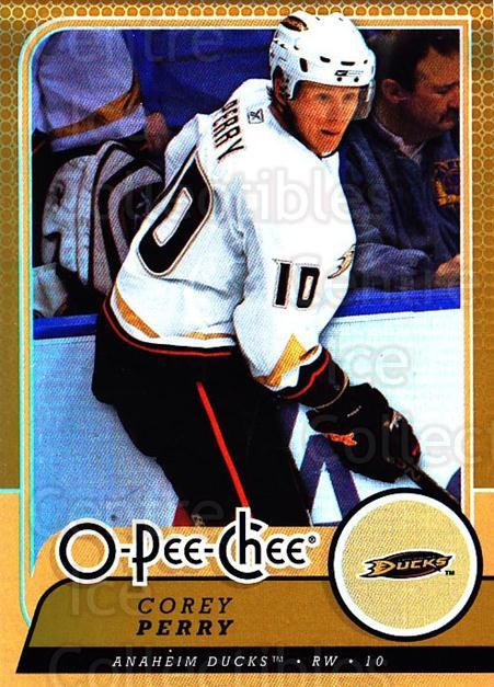 2008-09 O-pee-chee Gold #59 Corey Perry<br/>1 In Stock - $2.00 each - <a href=https://centericecollectibles.foxycart.com/cart?name=2008-09%20O-pee-chee%20Gold%20%2359%20Corey%20Perry...&quantity_max=1&price=$2.00&code=290142 class=foxycart> Buy it now! </a>
