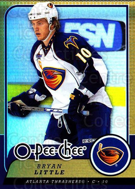 2008-09 O-pee-chee Gold #73 Bryan Little<br/>1 In Stock - $2.00 each - <a href=https://centericecollectibles.foxycart.com/cart?name=2008-09%20O-pee-chee%20Gold%20%2373%20Bryan%20Little...&quantity_max=1&price=$2.00&code=290156 class=foxycart> Buy it now! </a>