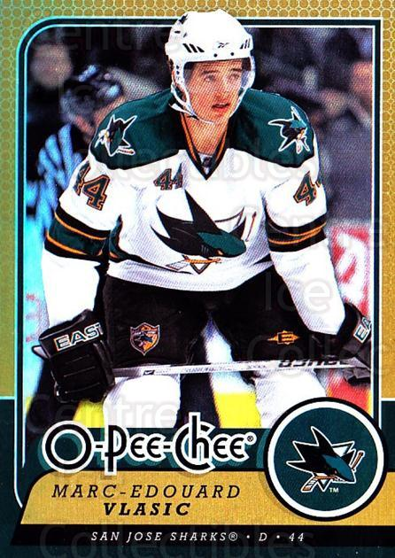 2008-09 O-pee-chee Gold #74 Marc-Edouard Vlasic<br/>1 In Stock - $2.00 each - <a href=https://centericecollectibles.foxycart.com/cart?name=2008-09%20O-pee-chee%20Gold%20%2374%20Marc-Edouard%20Vl...&quantity_max=1&price=$2.00&code=290157 class=foxycart> Buy it now! </a>