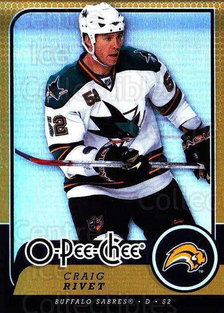 2008-09 O-pee-chee Gold #79 Craig Rivet<br/>1 In Stock - $2.00 each - <a href=https://centericecollectibles.foxycart.com/cart?name=2008-09%20O-pee-chee%20Gold%20%2379%20Craig%20Rivet...&quantity_max=1&price=$2.00&code=290162 class=foxycart> Buy it now! </a>