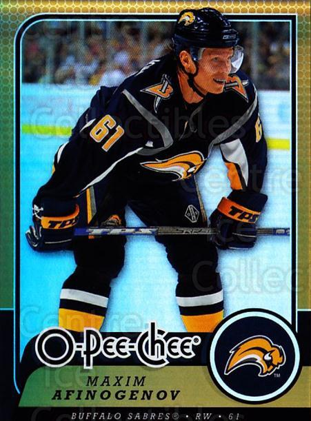 2008-09 O-pee-chee Gold #87 Maxim Afinogenov<br/>1 In Stock - $2.00 each - <a href=https://centericecollectibles.foxycart.com/cart?name=2008-09%20O-pee-chee%20Gold%20%2387%20Maxim%20Afinogeno...&quantity_max=1&price=$2.00&code=290170 class=foxycart> Buy it now! </a>