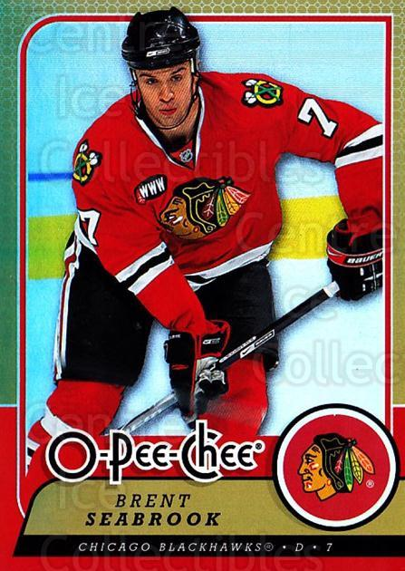 2008-09 O-pee-chee Gold #92 Brent Seabrook<br/>1 In Stock - $2.00 each - <a href=https://centericecollectibles.foxycart.com/cart?name=2008-09%20O-pee-chee%20Gold%20%2392%20Brent%20Seabrook...&quantity_max=1&price=$2.00&code=290175 class=foxycart> Buy it now! </a>