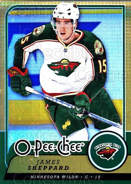 2008-09 O-pee-chee Gold #105 James Sheppard<br/>1 In Stock - $2.00 each - <a href=https://centericecollectibles.foxycart.com/cart?name=2008-09%20O-pee-chee%20Gold%20%23105%20James%20Sheppard...&quantity_max=1&price=$2.00&code=290188 class=foxycart> Buy it now! </a>