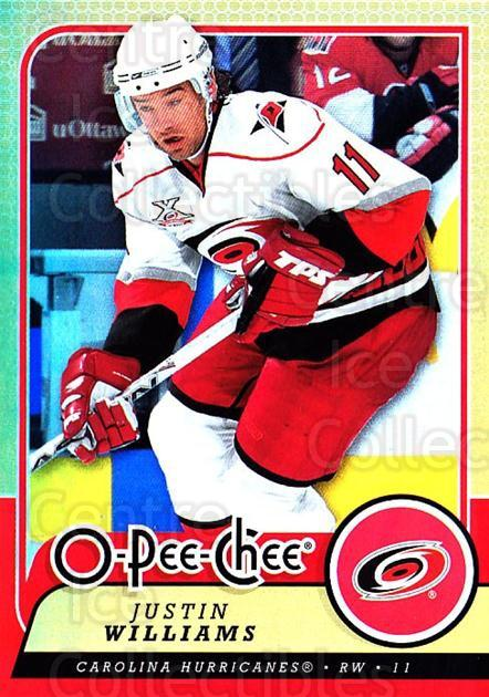 2008-09 O-pee-chee Gold #110 Justin Williams<br/>1 In Stock - $2.00 each - <a href=https://centericecollectibles.foxycart.com/cart?name=2008-09%20O-pee-chee%20Gold%20%23110%20Justin%20Williams...&quantity_max=1&price=$2.00&code=290193 class=foxycart> Buy it now! </a>
