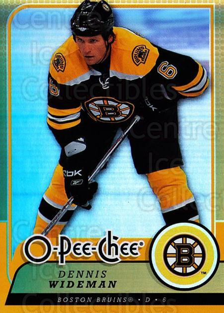 2008-09 O-pee-chee Gold #129 Dennis Wideman<br/>1 In Stock - $2.00 each - <a href=https://centericecollectibles.foxycart.com/cart?name=2008-09%20O-pee-chee%20Gold%20%23129%20Dennis%20Wideman...&quantity_max=1&price=$2.00&code=290212 class=foxycart> Buy it now! </a>
