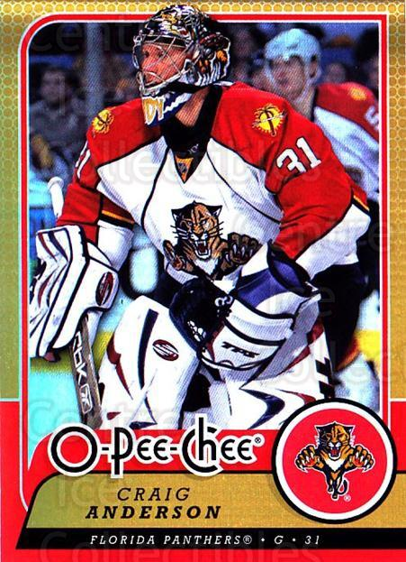 2008-09 O-pee-chee Gold #143 Craig Anderson<br/>1 In Stock - $2.00 each - <a href=https://centericecollectibles.foxycart.com/cart?name=2008-09%20O-pee-chee%20Gold%20%23143%20Craig%20Anderson...&quantity_max=1&price=$2.00&code=290226 class=foxycart> Buy it now! </a>
