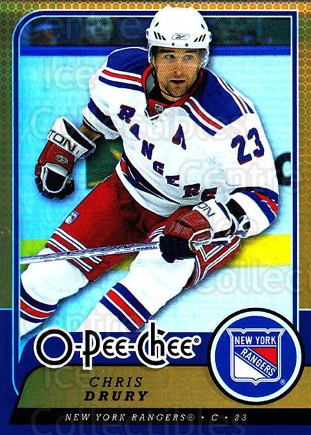 2008-09 O-pee-chee Gold #157 Chris Drury<br/>1 In Stock - $2.00 each - <a href=https://centericecollectibles.foxycart.com/cart?name=2008-09%20O-pee-chee%20Gold%20%23157%20Chris%20Drury...&quantity_max=1&price=$2.00&code=290240 class=foxycart> Buy it now! </a>