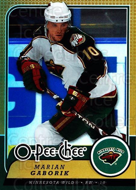 2008-09 O-pee-chee Gold #160 Marian Gaborik<br/>1 In Stock - $2.00 each - <a href=https://centericecollectibles.foxycart.com/cart?name=2008-09%20O-pee-chee%20Gold%20%23160%20Marian%20Gaborik...&quantity_max=1&price=$2.00&code=290243 class=foxycart> Buy it now! </a>