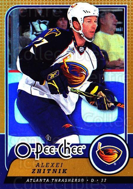 2008-09 O-pee-chee Gold #168 Alexei Zhitnik<br/>1 In Stock - $2.00 each - <a href=https://centericecollectibles.foxycart.com/cart?name=2008-09%20O-pee-chee%20Gold%20%23168%20Alexei%20Zhitnik...&quantity_max=1&price=$2.00&code=290251 class=foxycart> Buy it now! </a>