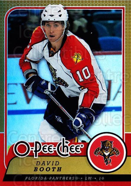 2008-09 O-pee-chee Gold #180 David Booth<br/>1 In Stock - $2.00 each - <a href=https://centericecollectibles.foxycart.com/cart?name=2008-09%20O-pee-chee%20Gold%20%23180%20David%20Booth...&quantity_max=1&price=$2.00&code=290263 class=foxycart> Buy it now! </a>