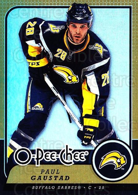 2008-09 O-pee-chee Gold #182 Paul Gaustad<br/>1 In Stock - $2.00 each - <a href=https://centericecollectibles.foxycart.com/cart?name=2008-09%20O-pee-chee%20Gold%20%23182%20Paul%20Gaustad...&quantity_max=1&price=$2.00&code=290265 class=foxycart> Buy it now! </a>