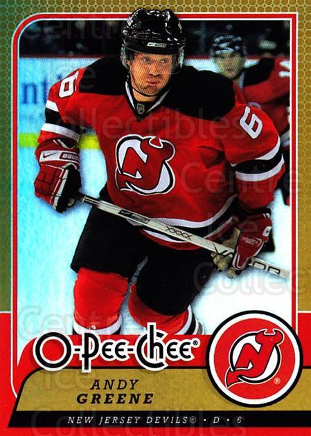2008-09 O-pee-chee Gold #192 Andy Greene<br/>1 In Stock - $2.00 each - <a href=https://centericecollectibles.foxycart.com/cart?name=2008-09%20O-pee-chee%20Gold%20%23192%20Andy%20Greene...&quantity_max=1&price=$2.00&code=290275 class=foxycart> Buy it now! </a>