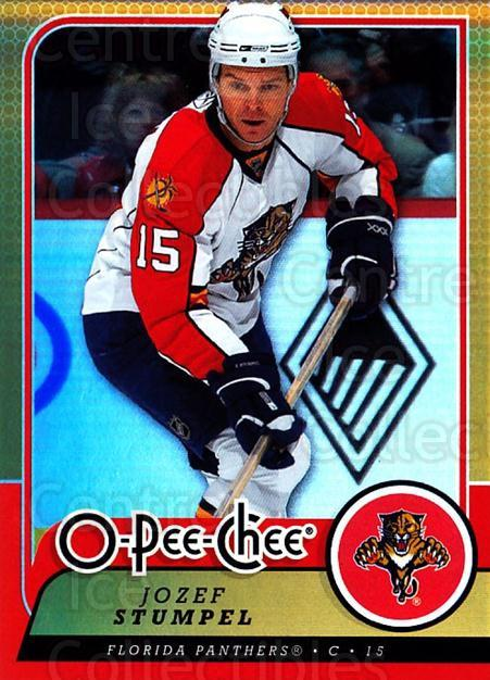 2008-09 O-pee-chee Gold #195 Jozef Stumpel<br/>1 In Stock - $2.00 each - <a href=https://centericecollectibles.foxycart.com/cart?name=2008-09%20O-pee-chee%20Gold%20%23195%20Jozef%20Stumpel...&quantity_max=1&price=$2.00&code=290278 class=foxycart> Buy it now! </a>
