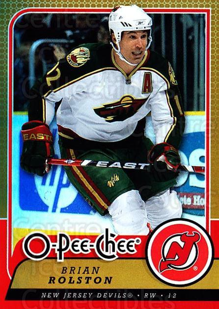 2008-09 O-pee-chee Gold #230 Brian Rolston<br/>1 In Stock - $2.00 each - <a href=https://centericecollectibles.foxycart.com/cart?name=2008-09%20O-pee-chee%20Gold%20%23230%20Brian%20Rolston...&quantity_max=1&price=$2.00&code=290313 class=foxycart> Buy it now! </a>