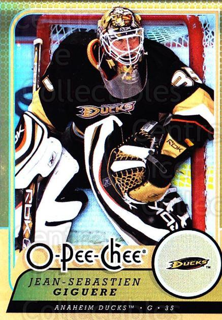 2008-09 O-pee-chee Gold #239 Jean-Sebastien Giguere<br/>2 In Stock - $2.00 each - <a href=https://centericecollectibles.foxycart.com/cart?name=2008-09%20O-pee-chee%20Gold%20%23239%20Jean-Sebastien%20...&quantity_max=2&price=$2.00&code=290322 class=foxycart> Buy it now! </a>