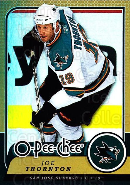 2008-09 O-pee-chee Gold #242 Joe Thornton<br/>1 In Stock - $2.00 each - <a href=https://centericecollectibles.foxycart.com/cart?name=2008-09%20O-pee-chee%20Gold%20%23242%20Joe%20Thornton...&quantity_max=1&price=$2.00&code=290325 class=foxycart> Buy it now! </a>