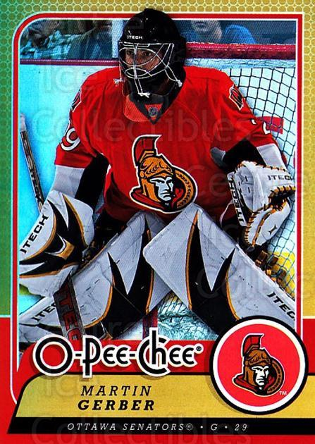 2008-09 O-pee-chee Gold #244 Martin Gerber<br/>1 In Stock - $2.00 each - <a href=https://centericecollectibles.foxycart.com/cart?name=2008-09%20O-pee-chee%20Gold%20%23244%20Martin%20Gerber...&quantity_max=1&price=$2.00&code=290327 class=foxycart> Buy it now! </a>