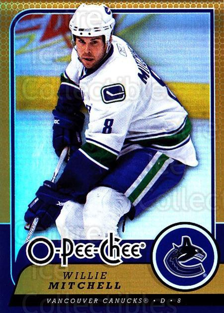 2008-09 O-pee-chee Gold #263 Willie Mitchell<br/>2 In Stock - $2.00 each - <a href=https://centericecollectibles.foxycart.com/cart?name=2008-09%20O-pee-chee%20Gold%20%23263%20Willie%20Mitchell...&quantity_max=2&price=$2.00&code=290346 class=foxycart> Buy it now! </a>