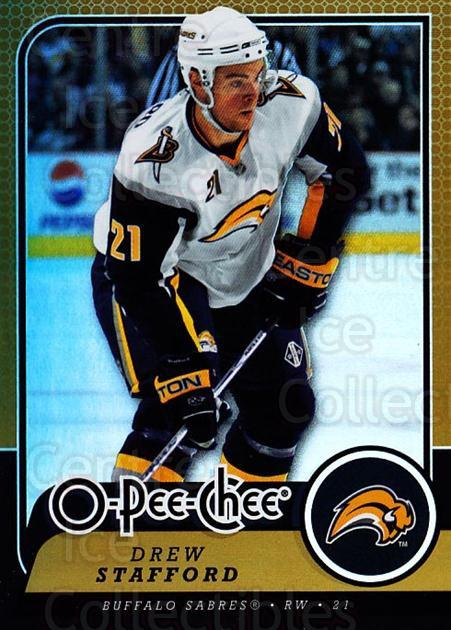 2008-09 O-pee-chee Gold #270 Drew Stafford<br/>1 In Stock - $2.00 each - <a href=https://centericecollectibles.foxycart.com/cart?name=2008-09%20O-pee-chee%20Gold%20%23270%20Drew%20Stafford...&quantity_max=1&price=$2.00&code=290353 class=foxycart> Buy it now! </a>