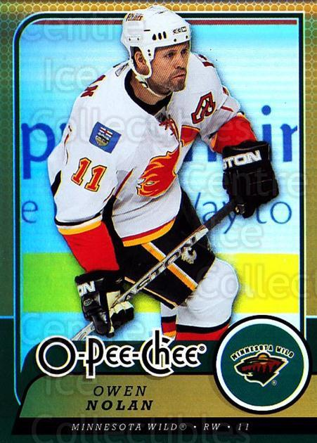 2008-09 O-pee-chee Gold #275 Owen Nolan<br/>1 In Stock - $2.00 each - <a href=https://centericecollectibles.foxycart.com/cart?name=2008-09%20O-pee-chee%20Gold%20%23275%20Owen%20Nolan...&quantity_max=1&price=$2.00&code=290358 class=foxycart> Buy it now! </a>
