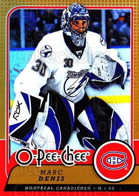 2008-09 O-pee-chee Gold #298 Marc Denis<br/>1 In Stock - $2.00 each - <a href=https://centericecollectibles.foxycart.com/cart?name=2008-09%20O-pee-chee%20Gold%20%23298%20Marc%20Denis...&quantity_max=1&price=$2.00&code=290381 class=foxycart> Buy it now! </a>