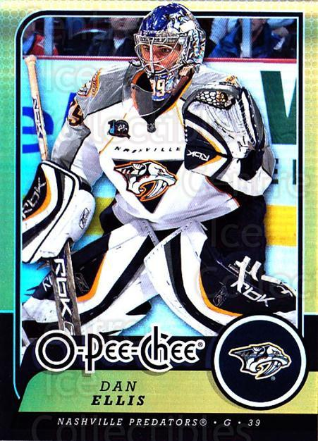 2008-09 O-pee-chee Gold #299 Dan Ellis<br/>2 In Stock - $2.00 each - <a href=https://centericecollectibles.foxycart.com/cart?name=2008-09%20O-pee-chee%20Gold%20%23299%20Dan%20Ellis...&quantity_max=2&price=$2.00&code=290382 class=foxycart> Buy it now! </a>