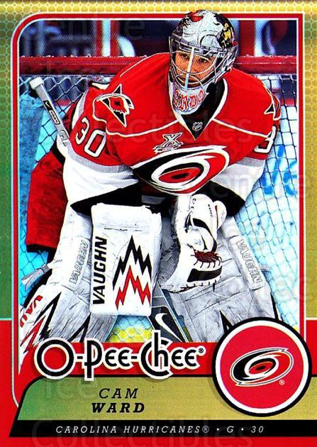 2008-09 O-pee-chee Gold #301 Cam Ward<br/>1 In Stock - $2.00 each - <a href=https://centericecollectibles.foxycart.com/cart?name=2008-09%20O-pee-chee%20Gold%20%23301%20Cam%20Ward...&quantity_max=1&price=$2.00&code=290384 class=foxycart> Buy it now! </a>