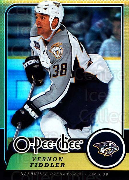 2008-09 O-pee-chee Gold #305 Vernon Fiddler<br/>1 In Stock - $2.00 each - <a href=https://centericecollectibles.foxycart.com/cart?name=2008-09%20O-pee-chee%20Gold%20%23305%20Vernon%20Fiddler...&quantity_max=1&price=$2.00&code=290388 class=foxycart> Buy it now! </a>