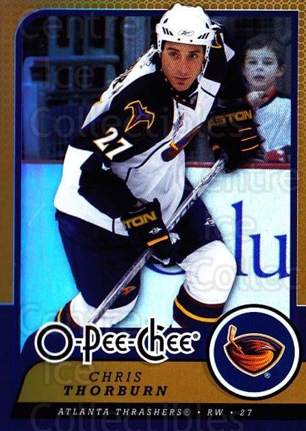 2008-09 O-pee-chee Gold #308 Chris Thorburn<br/>1 In Stock - $2.00 each - <a href=https://centericecollectibles.foxycart.com/cart?name=2008-09%20O-pee-chee%20Gold%20%23308%20Chris%20Thorburn...&quantity_max=1&price=$2.00&code=290391 class=foxycart> Buy it now! </a>