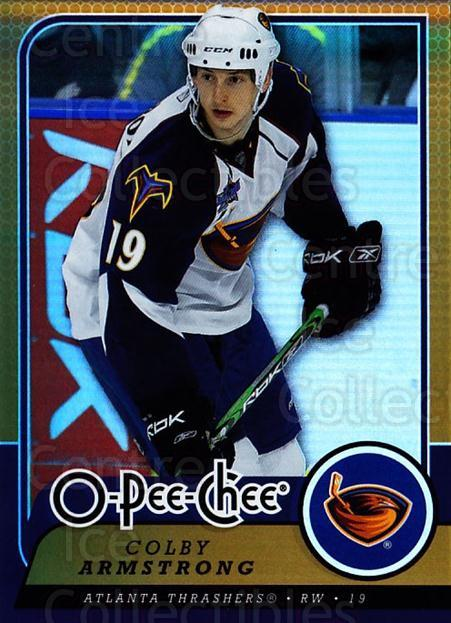 2008-09 O-pee-chee Gold #335 Colby Armstrong<br/>1 In Stock - $2.00 each - <a href=https://centericecollectibles.foxycart.com/cart?name=2008-09%20O-pee-chee%20Gold%20%23335%20Colby%20Armstrong...&quantity_max=1&price=$2.00&code=290418 class=foxycart> Buy it now! </a>