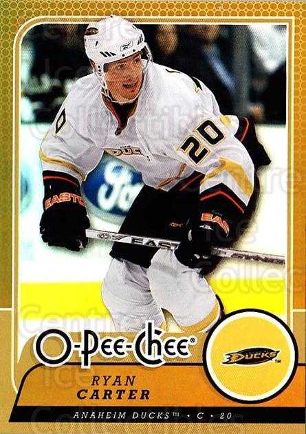 2008-09 O-pee-chee Gold #336 Ryan Carter<br/>2 In Stock - $2.00 each - <a href=https://centericecollectibles.foxycart.com/cart?name=2008-09%20O-pee-chee%20Gold%20%23336%20Ryan%20Carter...&quantity_max=2&price=$2.00&code=290419 class=foxycart> Buy it now! </a>