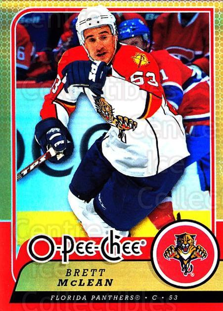 2008-09 O-pee-chee Gold #365 Brett McLean<br/>1 In Stock - $2.00 each - <a href=https://centericecollectibles.foxycart.com/cart?name=2008-09%20O-pee-chee%20Gold%20%23365%20Brett%20McLean...&quantity_max=1&price=$2.00&code=290448 class=foxycart> Buy it now! </a>