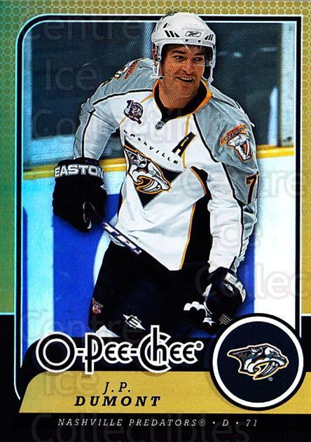 2008-09 O-pee-chee Gold #380 JP Dumont<br/>1 In Stock - $2.00 each - <a href=https://centericecollectibles.foxycart.com/cart?name=2008-09%20O-pee-chee%20Gold%20%23380%20JP%20Dumont...&quantity_max=1&price=$2.00&code=290463 class=foxycart> Buy it now! </a>