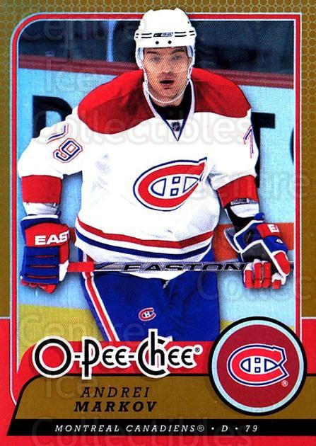 2008-09 O-pee-chee Gold #382 Andrei Markov<br/>1 In Stock - $2.00 each - <a href=https://centericecollectibles.foxycart.com/cart?name=2008-09%20O-pee-chee%20Gold%20%23382%20Andrei%20Markov...&quantity_max=1&price=$2.00&code=290465 class=foxycart> Buy it now! </a>