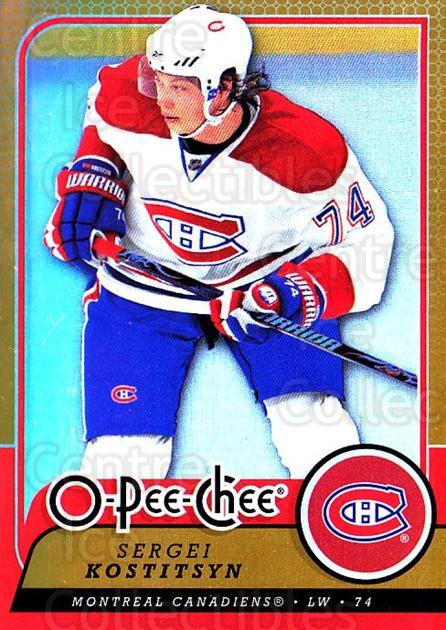 2008-09 O-pee-chee Gold #402 Sergei Kostitsyn<br/>1 In Stock - $2.00 each - <a href=https://centericecollectibles.foxycart.com/cart?name=2008-09%20O-pee-chee%20Gold%20%23402%20Sergei%20Kostitsy...&quantity_max=1&price=$2.00&code=290485 class=foxycart> Buy it now! </a>