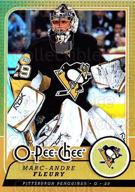 2008-09 O-pee-chee Gold #416 Marc-Andre Fleury<br/>1 In Stock - $5.00 each - <a href=https://centericecollectibles.foxycart.com/cart?name=2008-09%20O-pee-chee%20Gold%20%23416%20Marc-Andre%20Fleu...&quantity_max=1&price=$5.00&code=290499 class=foxycart> Buy it now! </a>